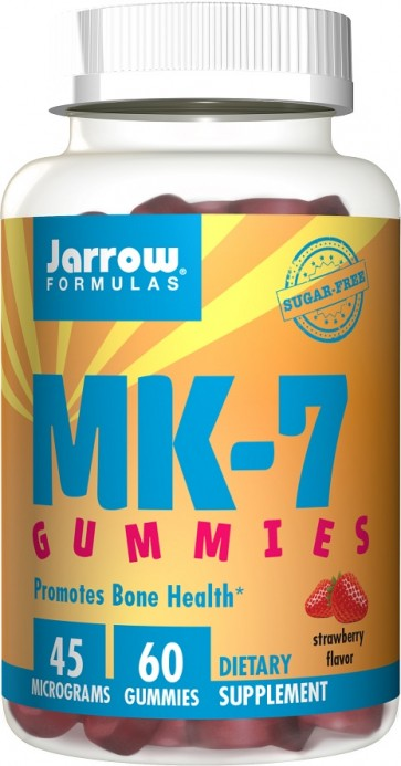 MK-7 Gummies, Strawberry - 60 gummies