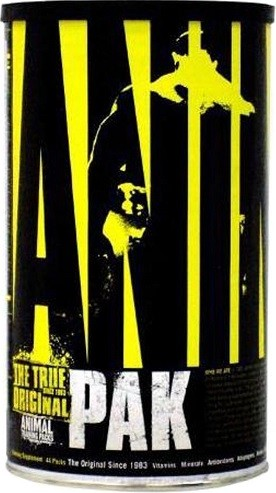 Animal Pak, Packs - 44 packs
