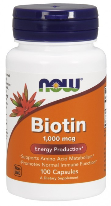 Biotin, 1000mcg with Vitamin C - 100 caps