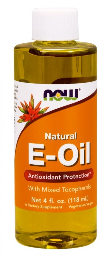 Natural Vitamin E-Oil with Mixed Tocopherols- 118 ml.