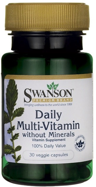 Daily Multi-Vitamin without Minerals - 30 vcaps