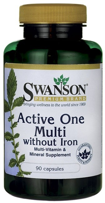 Active One Multi without Iron - 90 caps