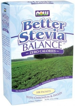 Better Stevia, Balance with Inulin and Chromium - 100 packets