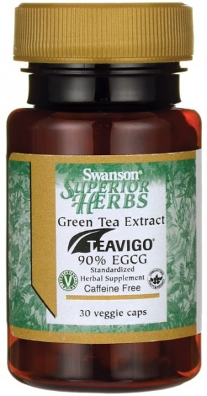 Teavigo Green Tea Extract 90% EGCG - 30 vcaps