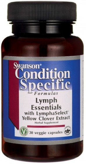 Lymph Essentials with LymphaSelect Yellow Clover Extract - 30 vcaps