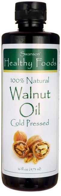 Walnut Oil, 100% Natural Cold Pressed - 473 ml.