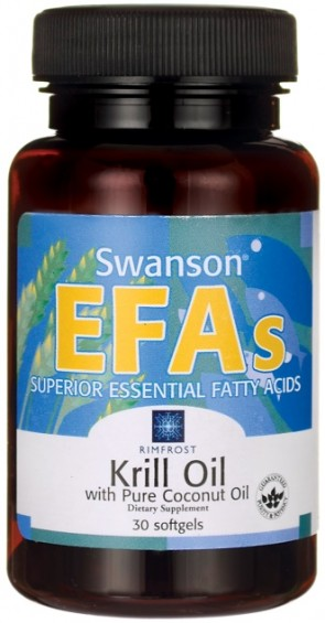 Krill Oil with Pure Coconut Oil - 30 softgels