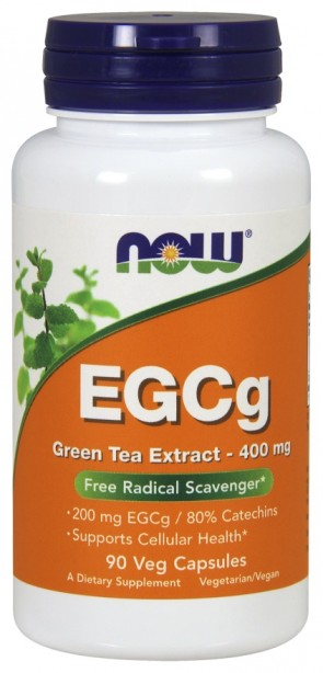 EGCg Green Tea Extract, 400mg - 90 vcaps