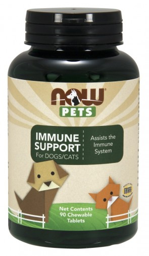 Pets, Immune Support - 90 chewable tablets