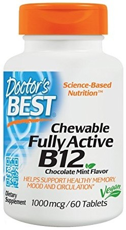 Chewable Fully Active B12 - 60 tabs