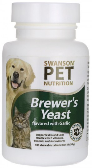 Pet, Brewer's Yeast with Garlic - 100 chewable tablets