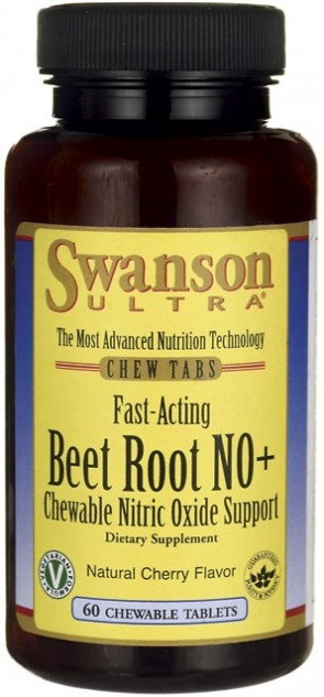 Beet Root NO+, Fast-Acting - 60 chewable tabs
