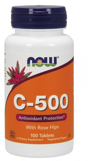 Vitamin C-500 with Rose Hips