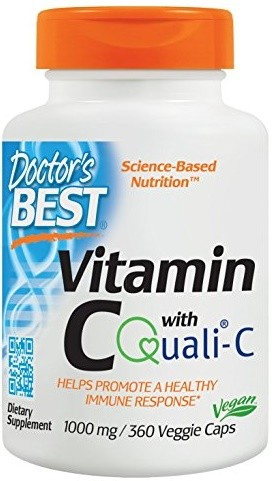 Vitamin C with Quali-C, 1000mg - 360 vcaps