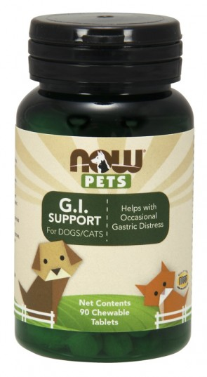 Pets, G.I. Support - 90 chewable tablets